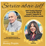 Person of the Year & Saporito Lifetime of Service awards