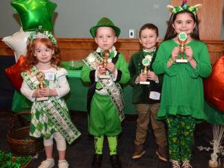 Lexi McCabe, Xander Hospodar crowned Pittston's Little Miss, Little Mister Leprechaun