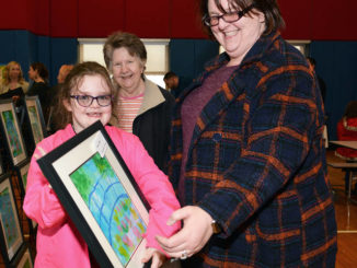 Event at Pittston Area Primary Center features artwork and ducks