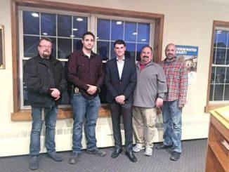Kuharchik Construction donates to Wyoming Borough Police Department