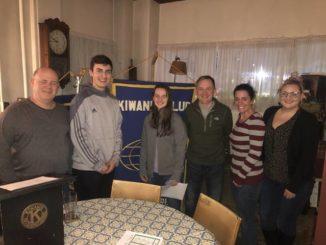 Wyoming Area Kiwanis welcomes new Key Club members
