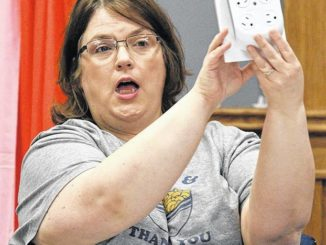 Red, white and blue Bingo played at Pittston Memorial Library