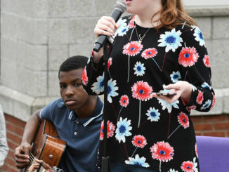 first-ever Pittston Day of Prayer held at city's new amphitheater