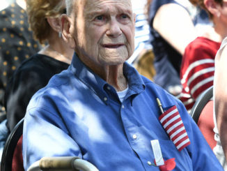 Exeter Events program honors veterans, recognizes military banners