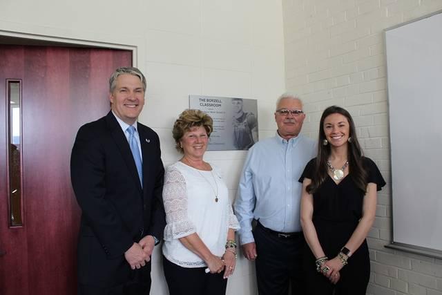 Classroom at Wilkes University named after 2011 grad John 'Beno' Borzell
