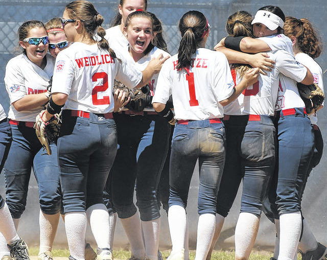 Pittston Area second in state in junior Little League softball