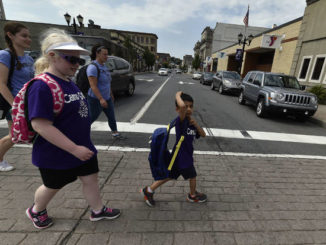 Scavenger hunt for visually impaired held throughout Pittston City