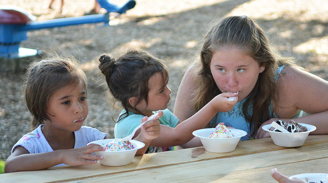 Wyoming Borough Recreation Board hosts Sundaes in the Park