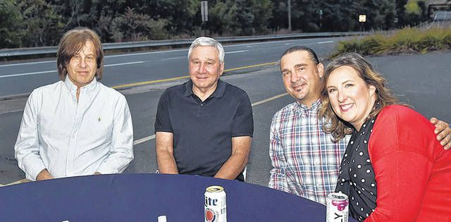 <p>From left: Mike Sperazza, Ray McGarry, Julio and Melissa Caprari enjoy the latest chamber of commerce event.</p>                                  <p>Tony Callaio | For Sunday Dispatch</p>
