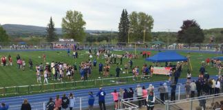 Pittston Area stepped in as host of the 65<sup>th</sup> annual Jordan Relays, which were held Thursday at Charley Trippi Stadium.                                  Tom Robinson | Sunday Dispatch