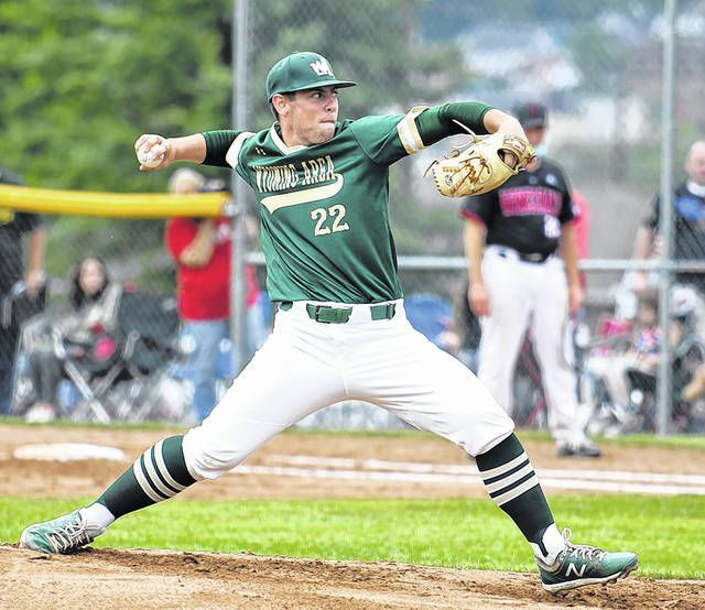 <p>Wyoming Area junior J.J. Hood was the winning pitcher in the District II AAAA title game against Honesdale on Thursday afternoon at West Pittston. The game was halted by the 10-run rule in five innings.</p>                                  <p>Tony Callaio | For Times Leader</p>